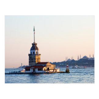 Torre virginal en Estambul Postal