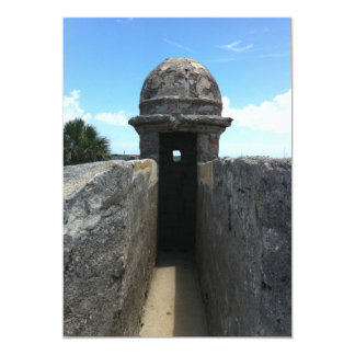 Torrecilla de Castillo de San Marcos, St Invitacion Personalizada