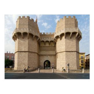 Torres de Serranos Tarjetas Postales