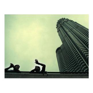 torres gemelas de Petronas Postal