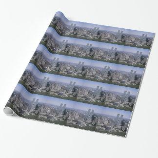 Torres gemelas del horizonte de New York City Papel De Regalo