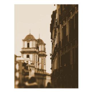 Torres gemelas - Madrid, España - postal