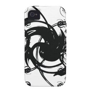 Torsión abstracta carcasa iPhone 4