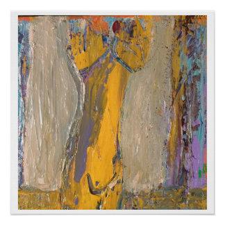 Torso abstracto - impresión brillante 20 x 20 perfect poster
