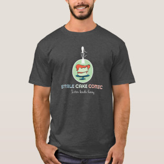 Torta añeja cómica camiseta