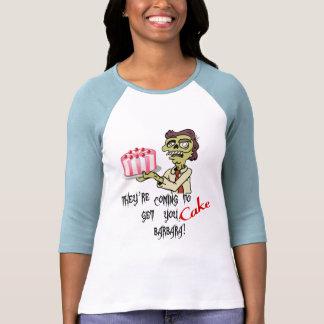 Torta (chicas) camisetas