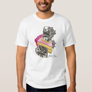 Torta conseguida camiseta