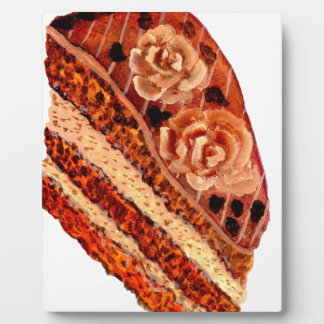 Torta de chocolate 4 placa expositora
