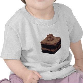Torta de chocolate camiseta