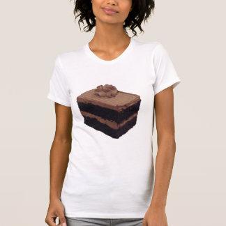 Torta de chocolate camisetas