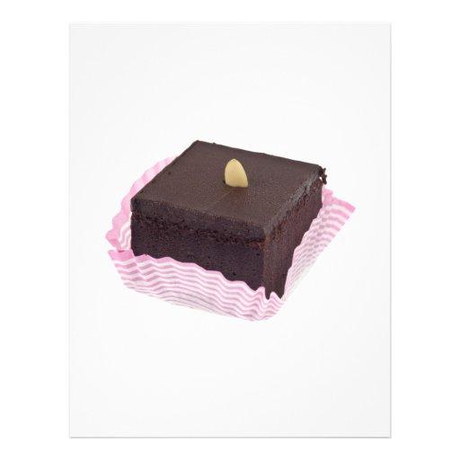 Torta de chocolate tarjetón