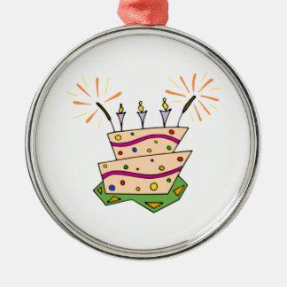 Torta de cumpleaños adorno