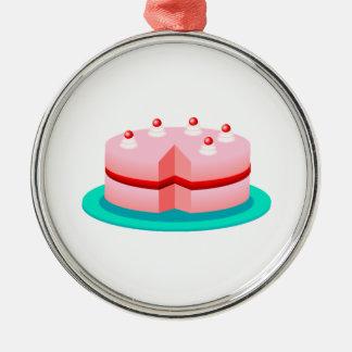 Torta de cumpleaños ornaments para arbol de navidad