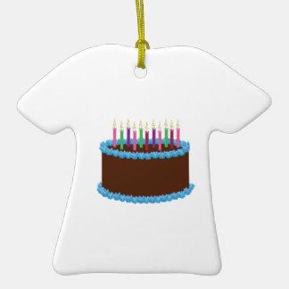 Torta de cumpleaños ornamentos para reyes magos