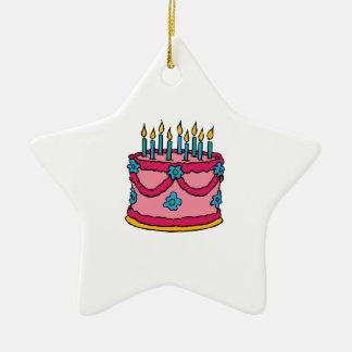 Torta de cumpleaños adorno de reyes