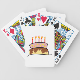 Torta de cumpleaños baraja de cartas