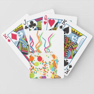 Torta de cumpleaños baraja cartas de poker