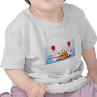 Torta de cumpleaños camisetas