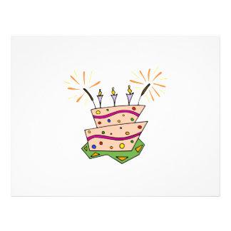 Torta de cumpleaños Clipart Tarjeta Publicitaria