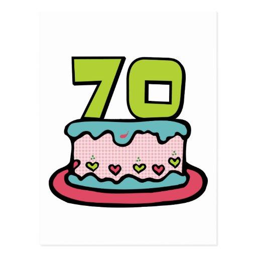 Torta de cumplea os de 70 a os tarjetas postales zazzle for Diseno de interiores anos 70