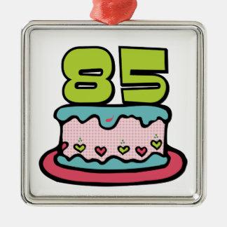 Torta de cumpleaños de 85 años ornamentos de reyes