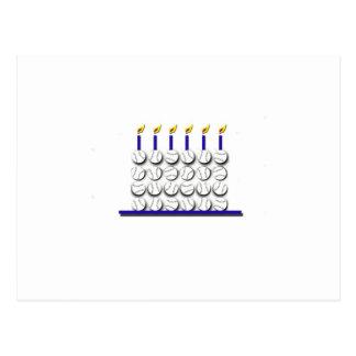 Torta de cumpleaños del béisbol postal