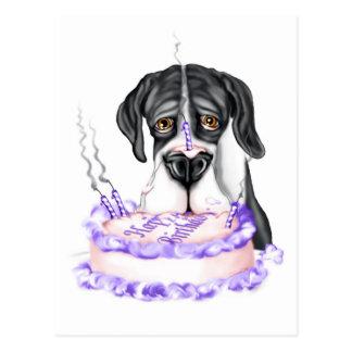 Torta de cumpleaños del UC de la capa de great Postal