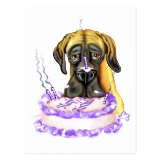 Torta de cumpleaños del UC del cervatillo de great Postal