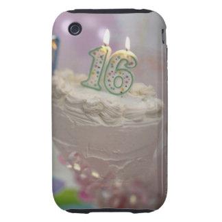 Torta de cumpleaños iPhone 3 tough cobertura