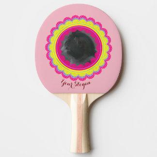 Torta de la foto pala de ping pong