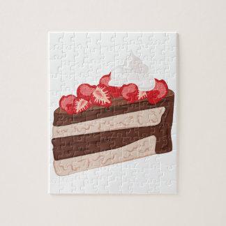 Torta de la fresa puzzle