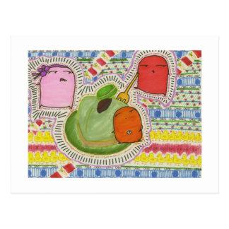 torta de la torta del hámster series-2013-cake postal