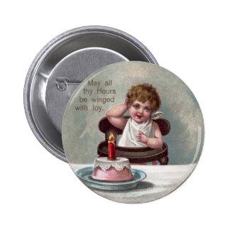 Torta del Año Nuevo y de cumpleaños del bebé Pin