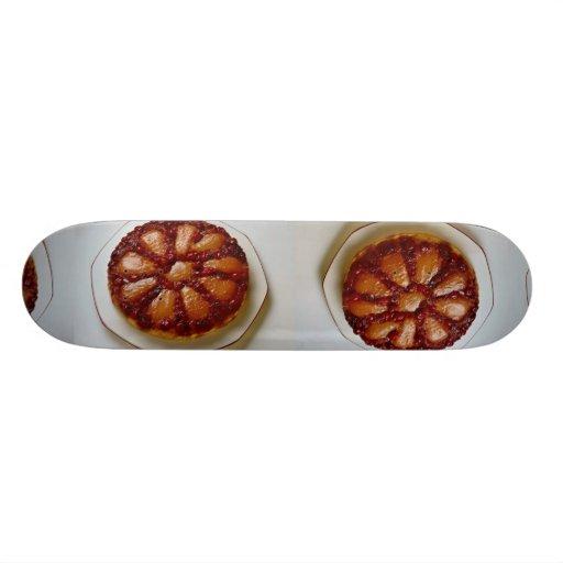 Torta del arándano y de la pera tabla de skate