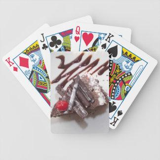Torta del bosque negro baraja de cartas