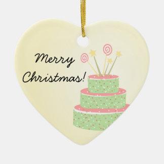 Torta del confeti • Torta de cumpleaños verde Ornamento Para Reyes Magos