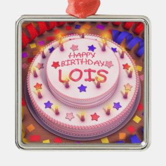 Torta del cumpleaños de Lois Adornos