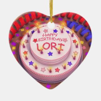 Torta del cumpleaños de Lorri Adorno De Reyes