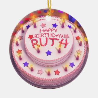 Torta del cumpleaños de Ruth Adorno De Navidad