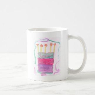 Torta del día de B Tazas De Café