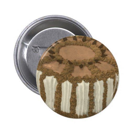 Torta del pastel del café del chocolate pin