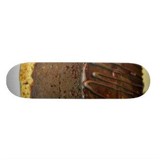 Torta del postre del chocolate patin