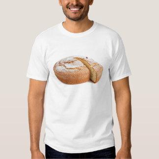 torta del yogur cortada camiseta