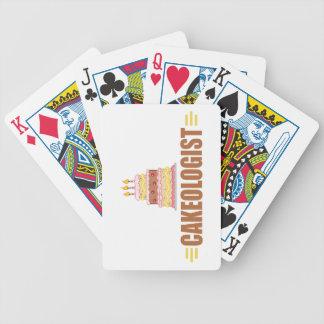 Torta divertida barajas de cartas