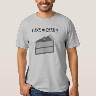 ¿Torta o muerte? Camisetas