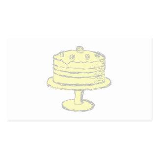Torta Tarjetas De Visita