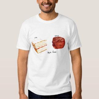 Torta y filete camiseta