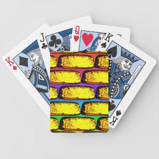 Tortas maravillosas del arte pop - naipes baraja cartas de poker