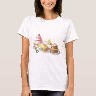 Tortas y galletas que cuecen camiseta