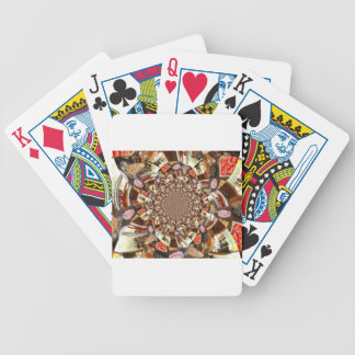 Tortas y postres hermosos cartas de juego